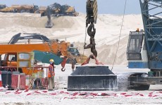 Video: Work progressing on Saadiyat Lagoons project in Abu Dhabi