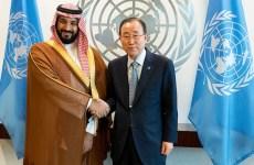 Saudi deputy crown prince meets UN chief, discusses Yemen