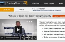 Saxo Bank Launches Social Trading Website