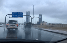 Pictures: Rains hit UAE, temperatures to drop