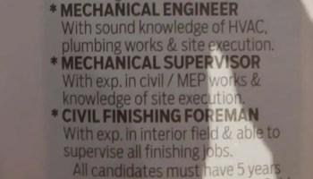 Electrical Procurement Engineers Dubai UAE | Gulf Career Hunt