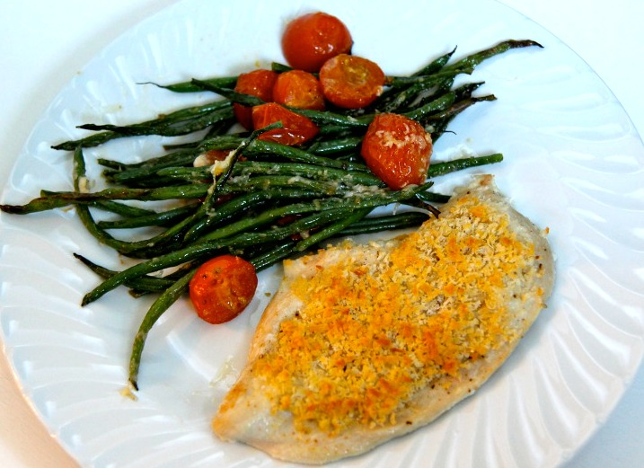 Parmesan Roasted Green Beans. A delicious, fast, simple side dish that goes with everything.