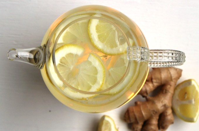 Fresh, healthy, and homemade! This Lemon Ginger Tea recipe will warm you from the inside out while providing a wide range of health benefits!