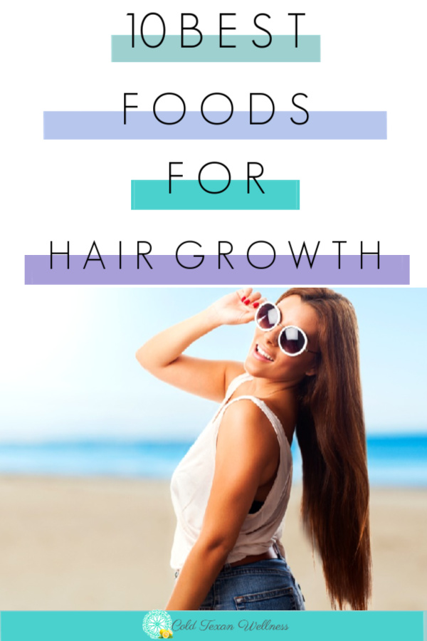 Have a bad haircut that you want to grow out? Always wanted beautiful long hair? Try these 10 foods to help with hair growth!