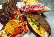 Tangerine Lobster and Steak