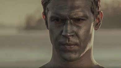 Gideon Hodge as a Living Statue