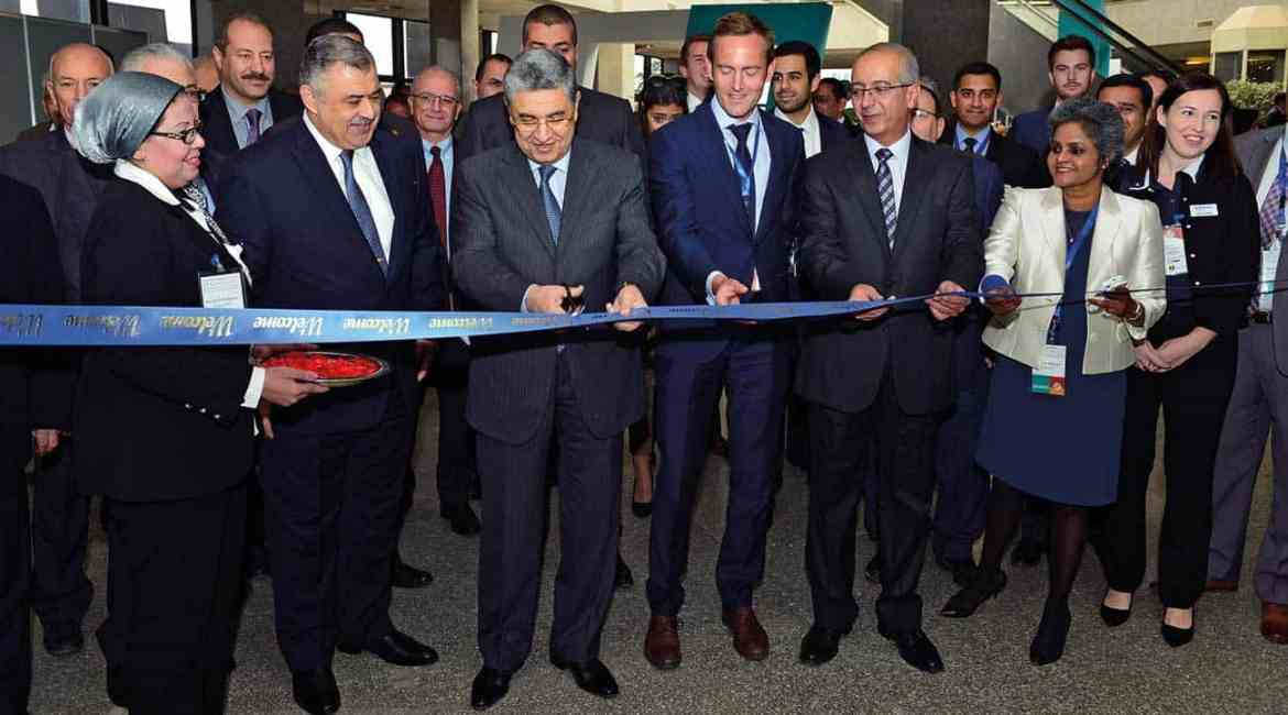 MEFSEC 2015 was officially inaugurated by Dr. Mohamed Shaker El-Markabi, Minister of Electricity and Renewable Energy, Chairman of EFPA (Egyptian Fire Protection Association)