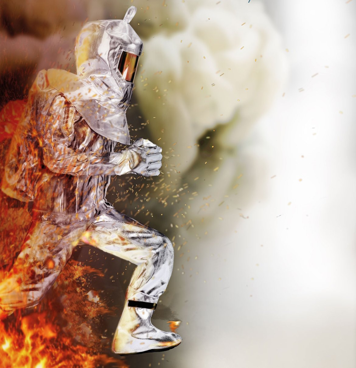 FIRESHIELD is a multi-layered fabric complex designed to offer high radiant heat protection level without sacrificing mobility.