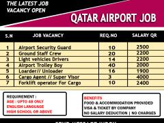 Job in Gulf Airline