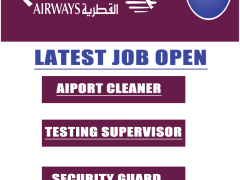 Corporate & Commercial Job Open in Qatar Airways