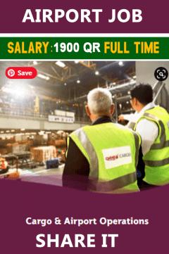 Qatar Airways Jobs || Cargo & Airport Operation