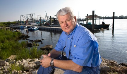 """I take great care to sell only seafood that was caught legally and sustainably, and I know my customers appreciate it,"" said Harlon Pearce, Gulf Seafood Institute president. Photo: Ed Lallo/Newsroom Ink"