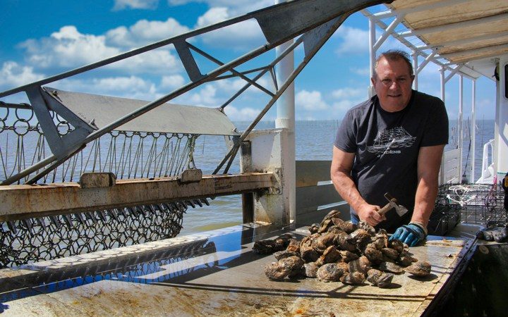 Louisiana Oysterman Tony Tesvich's Tales From the Gulf