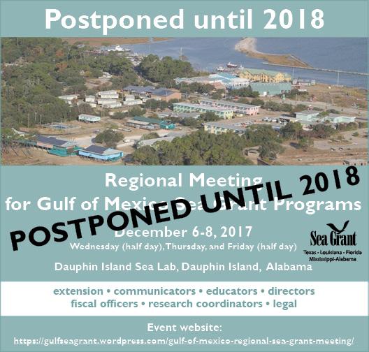 save the date regional meeting 2017.postponed