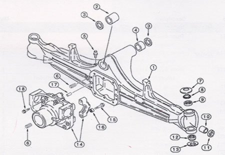 Mahindra Axle Diagram, Mahindra, Free Engine Image For