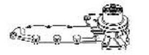 15341-73030 Kubota Water Pump