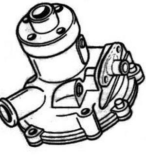 15481-73030 Kubota Water Pump