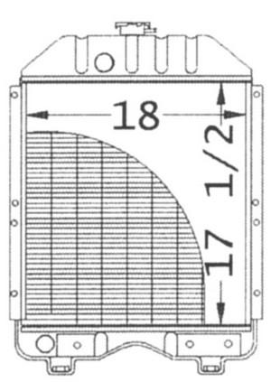 15482-99280 Kubota Radiator