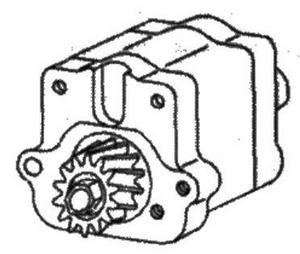 3510800M91 Massey Ferguson Power Steering Pump
