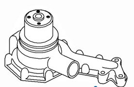 AT11918 John Deere Water Pump