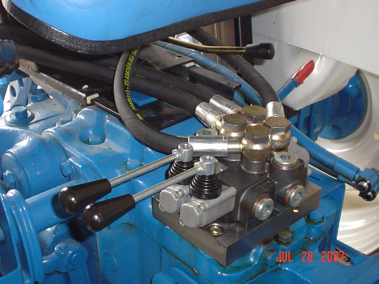 kubota wiring diagram arlec fan light fd-03 ford double auxiliary valve kit - gulf south equipment