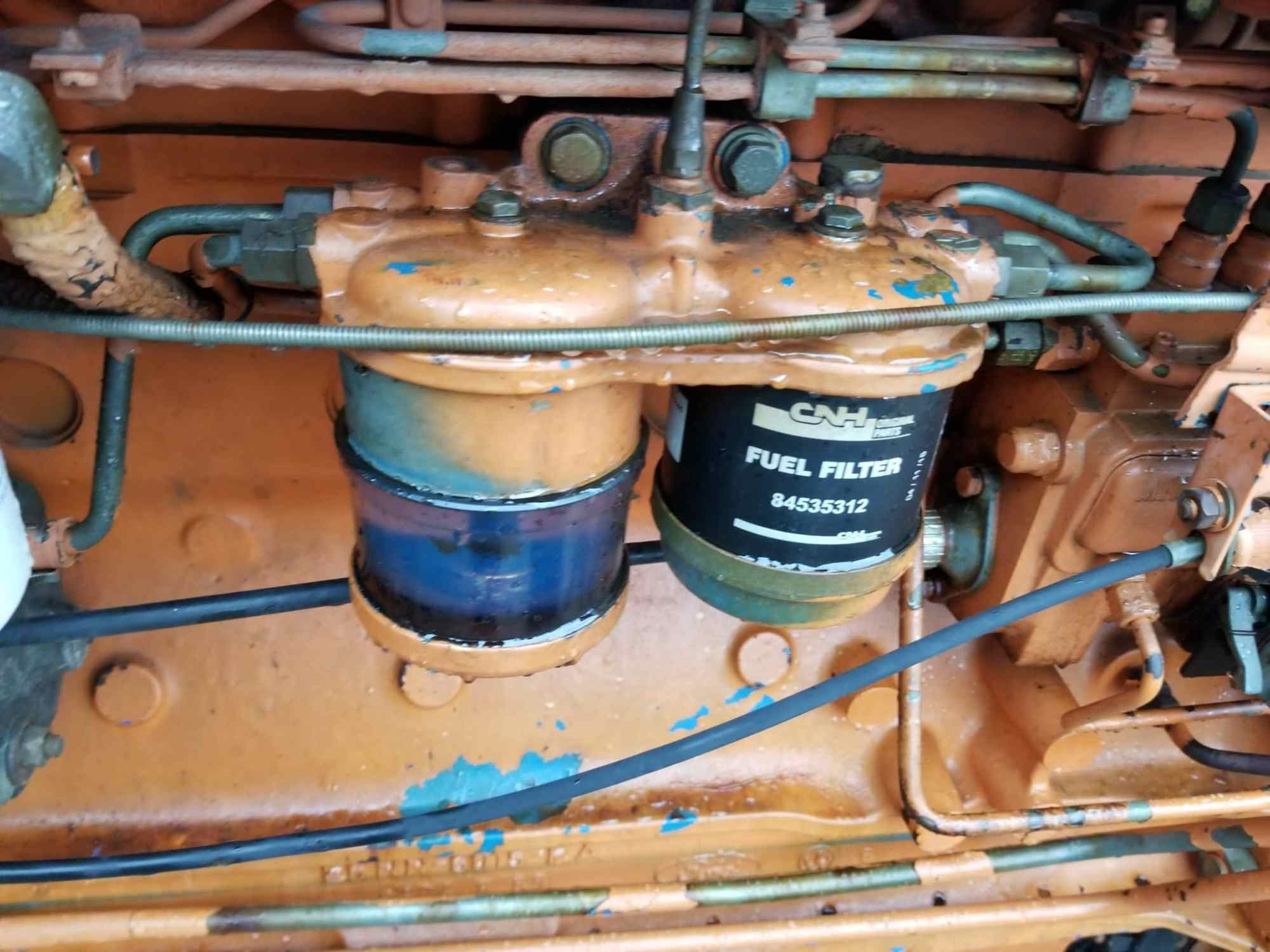 hight resolution of used ford 7810 fuel filter head
