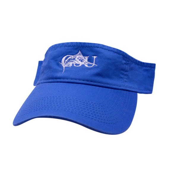 29258e2e31a State Flag Trucker Hat. Gsu Visor Ultramarine Gulf Stream University
