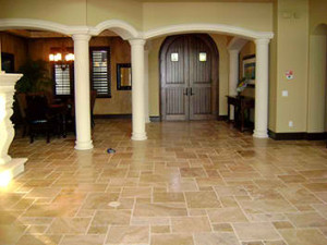 Travertine in Tampa Largo Bradenton FL at Gulf Tile