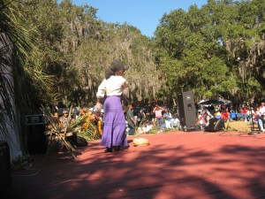 Queen Quet at Heritage Day 2012
