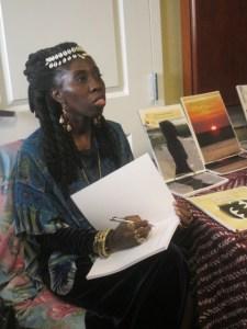 Queen Quet, Chieftess of the Gullah/Geechee Nation Booksigning