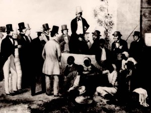 The Weeping Time was the largest African enslavement auction to every take place.  It was held in Savannah, GA on March 2 & 3, 1859.  436 Gullah/Geechees were sold.  www.gullahgeechee.net
