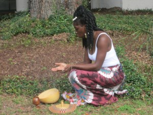 Queen Quet, Chieftess of the Gullah/Geechee Nation Libation Ceremony on St. Helena Island