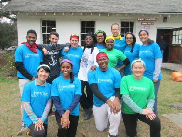 Queen Quet & Rollins College Students at Penn Center