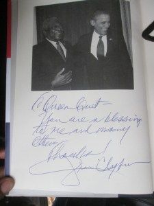 """Inscription to Queen Quet in """"Blessed Experiences"""""""