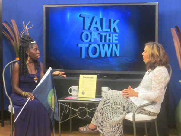 "Queen Quet on WHHI's ""Talk of the Town"""
