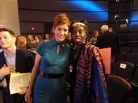 Actress Kate Walsh and Queen Quet, Chieftess of the Gullah/Geechee Nation