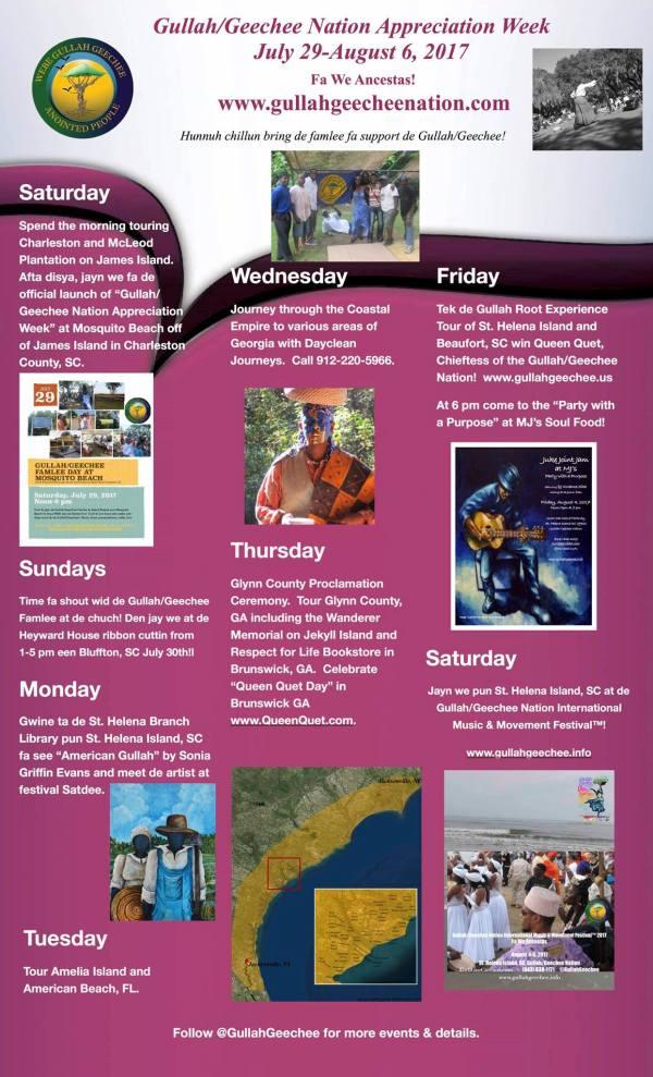 Gullah/Geechee Nation Appreciation Week