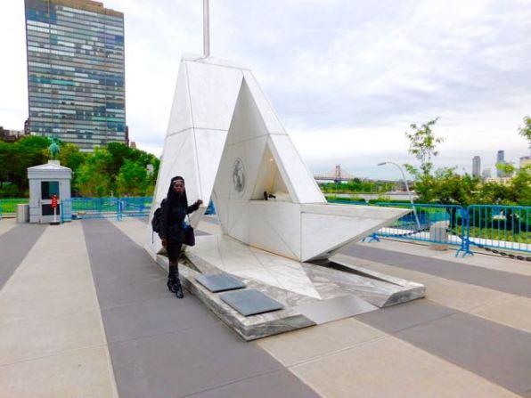 Queen Quet at the UN's Ark of Return