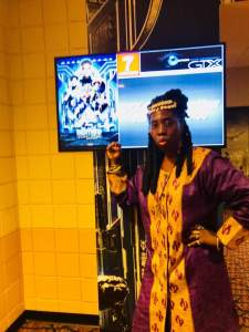 Queen Quet Proudly Supporting Black Panther!