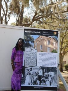 Queen Quet Reconstruction Era National Monument Unveiling