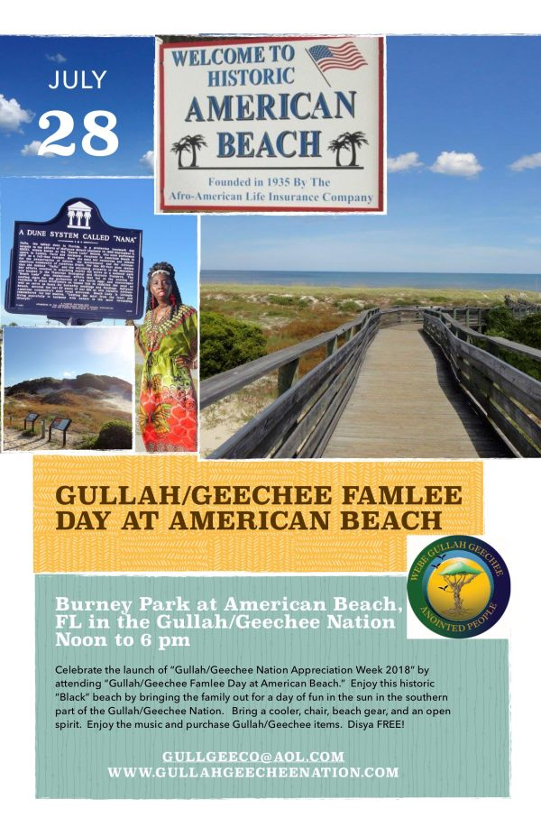 Gullah:Geechee Famlee Day at American Beach