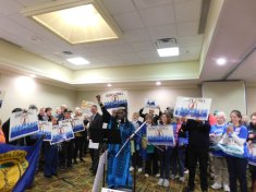 Queen Quet leading at Offshore Drilling Rally