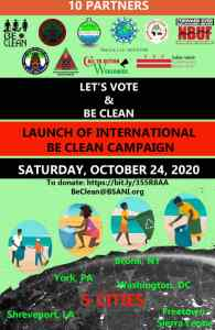 Let's Vote and Be Clean Campaign
