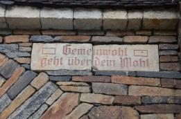 Från stadsporten i gamla gruvstaden Freiberg, Nikkor.