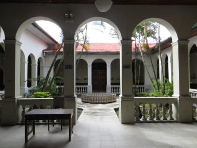 Innergården till f.d. Prefectura de Loreto.