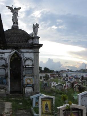 Familjen Moreys mausoleum.