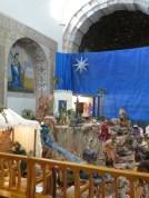 Julkrubba i katedralen i Tunja.