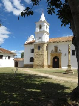 Kloster i Villa de Leyva.