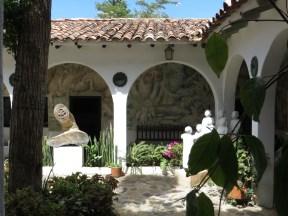 Casa Acuna i Villa de Leyva, museum över konstnären och restauratorn Luis Alberto Acuna.