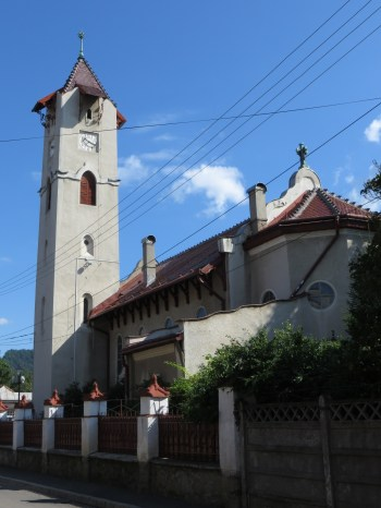 Evangelisk-lutherska kyrkan i transsylvansk nationalromantik.